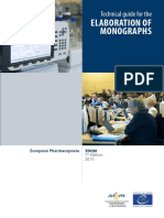 Technical Guide for the Elaboration of Monographs 7th Edition 2015
