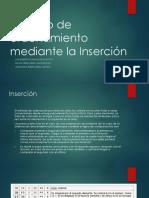 Método de Inserción