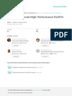 Flexible Nanoscale High-Performance FinFETs