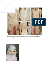 Detail Kostum Nikah