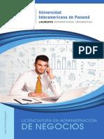 Pensum Lic en Administración de Negocios UIP