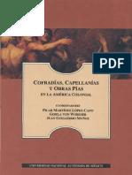 Cofradías, Capellanías y Obras Pías en La América Colonial