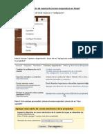 Configuración de Cuenta de Correo Corporativo en Gmail