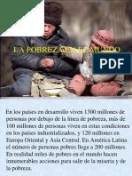 La pobreza en el mundo..ppt