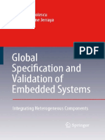 Gabriela Nicolescu, Ahmed Jerraya-Global Specification and Validation of Embedded Systems_ Integrating Heterogeneous Components (2007)