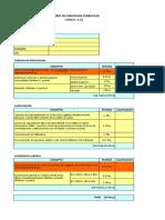 Formato de Evaluación de Cv, Guía