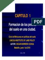 Formacion Precios Suelo Borrero Oscar 2011 Presentacion