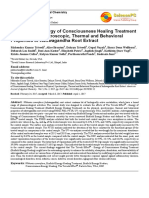 Trivedi Effect - Effects of the Energy of Consciousness Healing Treatment on Physical, Spectroscopic, Thermal and Behavioral Properties of Ashwagandha Root Extract