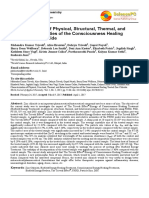 Trivedi Effect - Characterization of Physical, Structural, Thermal, and Behavioral Properties of the Consciousness Healing Treated Zinc Chloride