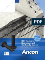 KSN Anchors Reinforcement Continuity System