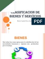 Clasificacion de Bienes y Servicios...