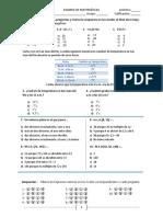 examen 1°  2do bim mcd mcm suma negativos 2