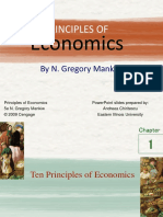 Chapter 1 - Ten Principles of Economics