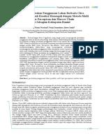 Paper Diana Projo Bowo Pros MAPIN-XX 2015