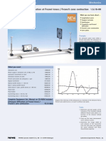 Ultrasonic Diffraction at Fresnel Lenses Fresnel's Zone Contruction