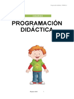 Programación didáctica 4 años