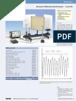 Ultrasonic Michelson-Interferometer