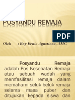 Power Point Posyandu Remaja
