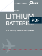 Lithium Battery in Aircraft