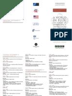 Tbilisi International Conference Agenda