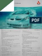 Mitsubishi COLT CZ5 PL-Instrukcja Obslugi