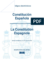 BOE-160 Constitucion Espanola La Constitution Espagnole