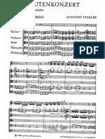 Conciertos de Vivaldi en C y D Rv82 y 95