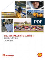 Shell Eco Marathon Le Mans 2017 Rules Chapter 2