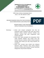 6.7.3.2 EP.3 SK UKP Menjamin Keamanan Peralatan Yg Disposible Tidak Di Ulang