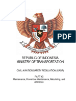 CASR Part 43 Amdt. 1 - Maintenance, Preventive Maintenance, Rebuilding and Alteration.pdf