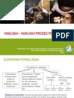 MACAM - MACAM PROSES PENGELASAN