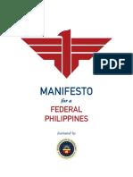 3f442cbd5 Federalism Manifesto (21 August 2016)