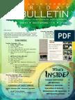 MS Parent Bulletin (Week of September 11 to 15)