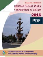 Kota Pariaman Dalam Angka 2016
