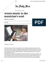 "Preview of ""When music is the musician's soul 