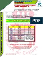 DEPORTE | Inscripciones Cursos Natación en Coslada / Piscina El Cerro. Invierno 2017/18