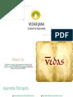 Vedarjana School of Ayurveda