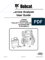 Service Analyzer User Guide Bobcat Tools