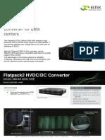 Datasheet Flatpack2 DCDC 380V 48V 3000W SHE