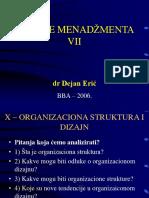 BBA-06 - Osnove Menadzmenta - X Glava - VII Nedelja