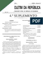 Diploma Ministerial_144_2010 Actualiza Taxas de DUAT