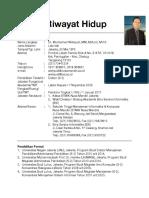 CV Mochamad Wahyudi 23 Mei 17