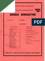 BEEBUG cover v1n4