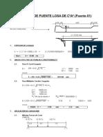Diseño Superestructura Puente