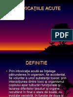 Intox. Acute