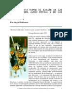 La Influencia Sobre El Karate . . . - Bryn Williams