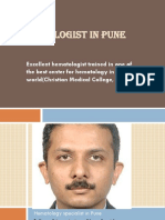 Hematology Specialist in Pune