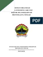264465997 Pedoman Organisasi ICU