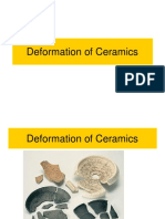 Deformation of Ceramics