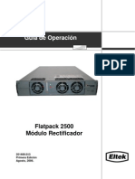 Flatpack 2500  Módulo de Rectificación _351410.013-3_ Esp